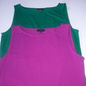 New Talbots tank tops (sold individually)